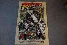 James Rheem Davis JRD Raiders of the Lost Ark Print Indiana Jones