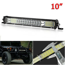 "10"" LED Work Light Bar Dual Row 180W Spot Flood Combo Lamp Truck SUV ATV Offroad"