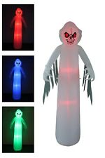 8 Foot Tall Halloween Inflatable Ghost Monster Color Change LED Yard Decoration