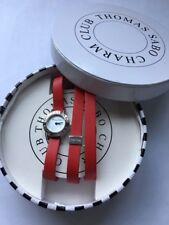 WA0138S- Ladies Thomas Sabo Sterling Silver Charm Club Quartz Strap Watch