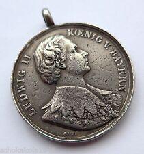Bayern Bürgermeistermedaille für --Obergermaringen-- Germaringen Ludwig II