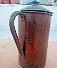 Vintage Copper Water Pitcher coffee Pot,Milk Pot With Handle, Drinking Water Jug