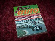 Magazine SPORT AUTO N°55 08/1966 SHELBY GT350 / JAGUAR E Type / GP de France //