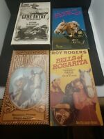 4 VHS CLASSIC WESTERN SINGING COWBOYS - Roy Rogers & Gene Autry