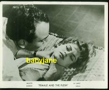 BRIGITTE BARDOT VINTAGE 8X10 PHOTO BEING STRANGLED 1955 FEMALE AND THE FLESH