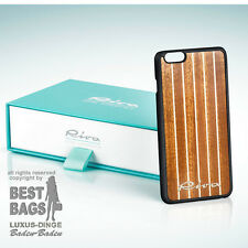 ORIG. RIVA AQUARAMA BOAT YACHT iPHONE 6plus COVER BLACK MAHAGONI - mega rar /Neu