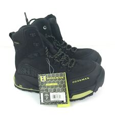 HODGMAN Vion H Lock Wade Boots Lace Up Black Hiking Boots Men's 7 NEW  $199