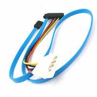 Kabeladapter Adapterkabel Kabel Festplattenadapter SCSI SFF-8482 zu SATA Lang