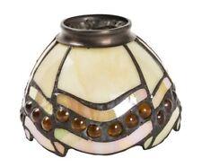 Paralume in vetro tiffany ricambio per lampade ed applique