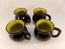 Set of 4 Halloween Witch's Cauldron Ceramic Coffee/Tea/Hot Chocolate Mugs
