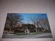 1960s FRANK LLOYD WRIGHT HOME OAK PARK IL. VTG POSTCARD