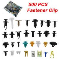 Auto Car Fastener Clip Bumper Fender Trim Plastic Rivet Door Panel Mixed 500Pcs