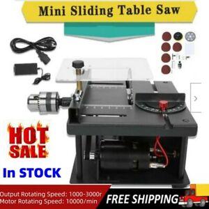 Woodworking Mini Sliding Table Saw Household Bench Saw US Plug Multifunctional