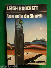 LES VOIX DE SKAITH LEIGH BRACKETT  N50 LE MASQUE SCIENCE FICTION