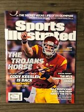 CODY KESSLER (USC Trojans) signed Sports Illustrated magazine  ~  PROOF~ JSA/COA