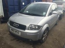 2001 Audi A2 STARTS AND DRIVES SPARES OR REPAIRS