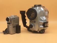 Sony DCR-PC1E Mini DV Camcorder AND Sea & Sea VX-1D Underwater Housing - READ