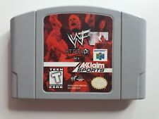 Nintendo 64 WWF Attitude Get It Game - FAST AND FREE SHIPPING !!