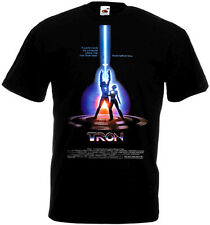 TRON Movie Poster T shirt Black all sizes