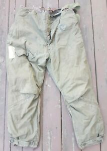 Vtg. US Army Air Forces Type A-9 Fur Lined Flight Pants Size 42