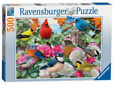 New! 14223 Ravensburger Garden Birds Jigsaw Puzzle 500 Pieces Age 10 years+