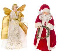 Christmas Tree Topper Santa /  Fairy Angel Decoration Treetop Ornaments