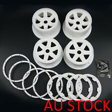 AU front and rear white wheel for HPI Baja 5B Rovan King Motor