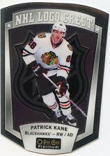 16/17 O-PEE-CHEE OPC PLATINUM NHL LOGO CREST #9 PATRICK KANE BLACKHAWKS *32041