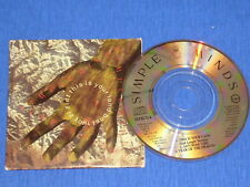 "SIMPLE MINDS - this is your land  RARE  3"" MAXI CD 1989"