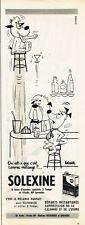 Publicité Advertising 097 1958  Solexine huile BP  par Barberousse