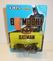 Classic Batmobile from the 1989 Batman Movie by ERTL Die Cast Metal DC Comic vtg