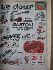 TV JOUR 76/23 (27/2/76) FRANQUIN GASTON LAGAFFE