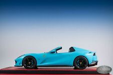 1/18 MR Collection FERRARI 812 GTS Baby Blue with black wheels