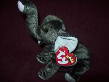 Ty Beanie Babies Elephant TRUMPET - NEW NWT- 5 INCHES TALL - 2000