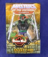 Motuc Masters of the Universe Classics Snake Face New in Mailer