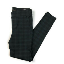 Stitch Fix Liverpool Night Sky Plaid Skinny Pull on Knit Pants NWT 0/25 Petite
