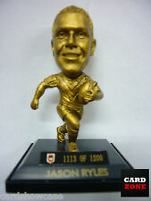 2008 Select NRL LIMITED EDITION GOLD FIGURINE NO.36 Jason Ryles (Dragons)