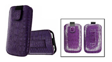 Housse Etui Ultra Slim (Croco Violet ) ~ Apple iPhone 3G / 3GS / 4 / 4S