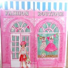 Dolls ~ Fashion Boutique ~ Dress Up Doll Stickers, Clothes, Shoes, Handbags