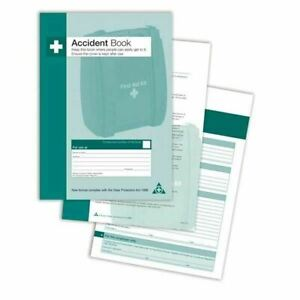 Safety First Aid A4 Accident Report Book (Q3200)