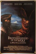 BROTHERHOOD OF THE WOLF DS ROLLED ORIG 1SH MOVIE POSTER WEREWOLF HORROR (2001)