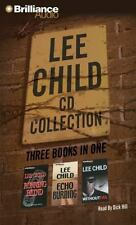 Lee Child Audiobook CD Collection: Running Blind, Echo Burning, Without Fail