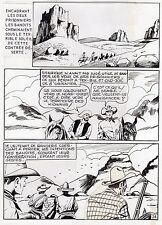 "MELLIES ""LE CIRQUE DU DIABLE"" PLANCHE ORIGINALE TEX BILL ARTIMA PAGE 24"