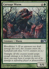 4x Wurm del Massacro - Carnage Wurm MTG MAGIC M12 English