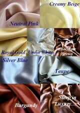 4 Pcs 100% Silk Bed Sheet Set Flat Fitted Pillowcases Deep Pocket