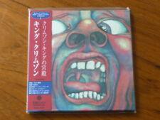 King Crimson: Court Japan CD Mini-LP 30th Anniversary Gold Mint PCCY-01421(elp Q
