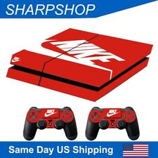 Skins Set for PS4 Game Playstation 4 Console & controller Stickers Cover N Logo