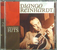 2erCD DJANGO REINHARDT - greatest hits, ovp