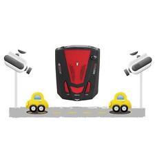 Car Escort Anti-Police Safty GPS Radar Detector Voice Alert Laser V7 LED Red WT