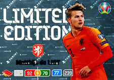 Panini Adrenalyn XL UEFA EURO 2020, Matthijs de Ligt (Niederlande, Limited)